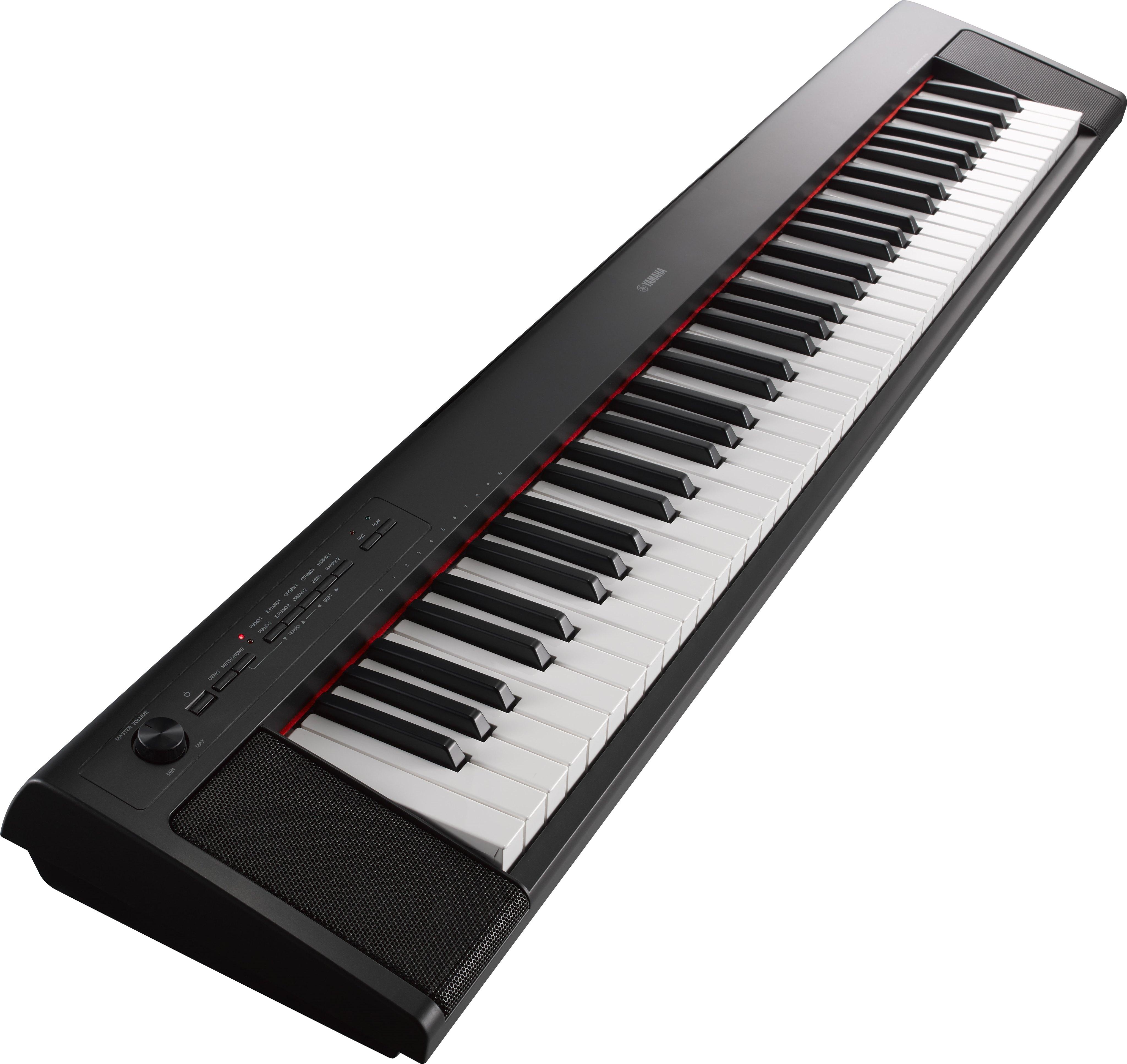 claviers arrangeurs yamaha fullpack np12 noir