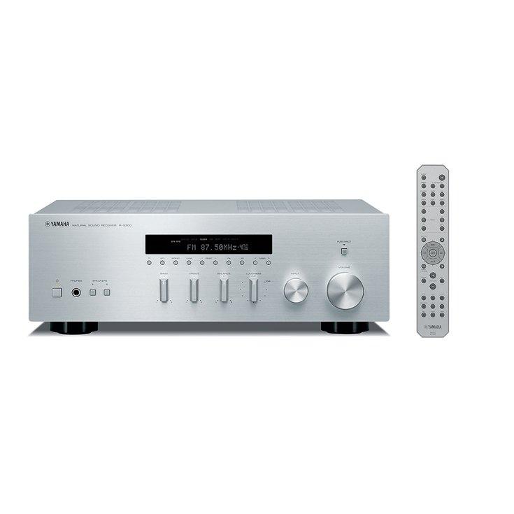 Yamaha R-S300 Amplificateur et Lecteur R/éseau Noir