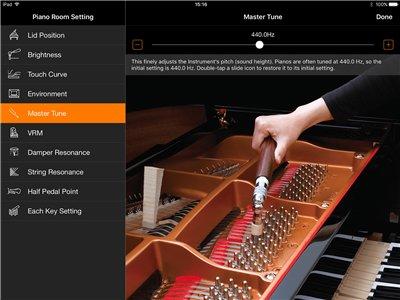 Une sonorité de piano de concert au bout des doigts