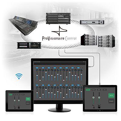 série mtx control processeurs audio professionnel produits