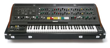 photo:Flagship model of the CS Series, the CS-80 debuted in 1977 with eight-note polyphony.