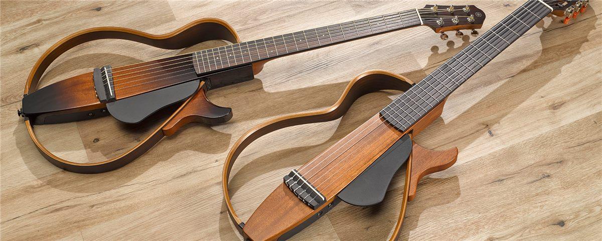 S rie xp pr sentation silent guitar guitares for Yamaha slg200s steel string silent guitar
