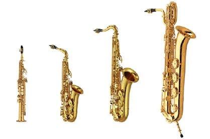 SONORITÉ AUTHENTIQUE DES 4 SAXOPHONES ACOUSTIQUES, 56 PRÉSÉLECTIONS - COUVRANT TOUS LES GENRES MUSICAUX